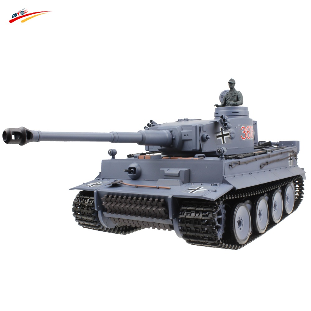 RC Tank 2.4G Germany Tiger 1:16 Remote Control Tank AirSoft with BB+Smoking+Sounding Effect Electronic Tank Model Toy(China (Mainland))