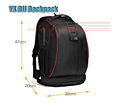 Hot dji phantom 2 3 vision Nylon Travel Shoulder Bag for Walkera QR X350 pro Backpack