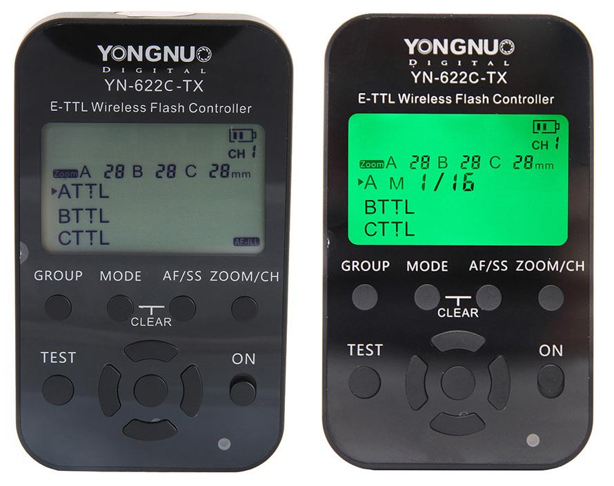 YONGNUO YN-622C-TX YN622C-TX Wireless TTL Flash Controller Transmitter for Canon<br><br>Aliexpress