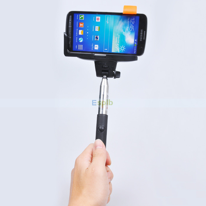 buy wireless bluetooth mobile phone monopod selfie stick tripod handheld. Black Bedroom Furniture Sets. Home Design Ideas