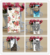 Buy HOT Beautiful flower Towers Animals Colored Painted cover FOR Sony M Patterns case Sony Xperia M C1905 C1904 C2004 C2005 for $1.19 in AliExpress store