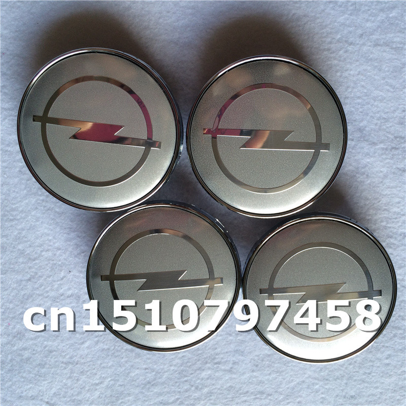 Car styling 40pcs/lot 60mm full chrome opel wheel hub center cap for car covers emblems decoration free shipping<br><br>Aliexpress