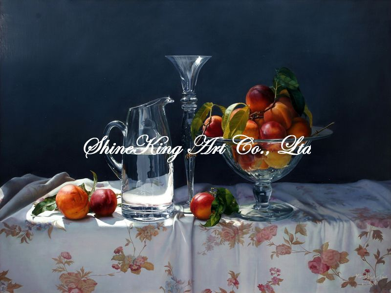 handpainted classical still life oil painting on canvas modern art home decor JW1130 60x80cm(China (Mainland))