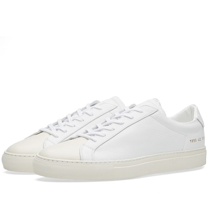 Brand Shoes Woman Common Projects Men Spring Autumn Low Top White Genuine Leather Sheepskin Casual Shoes Scarpe Mocassin Zapatos(China (Mainland))