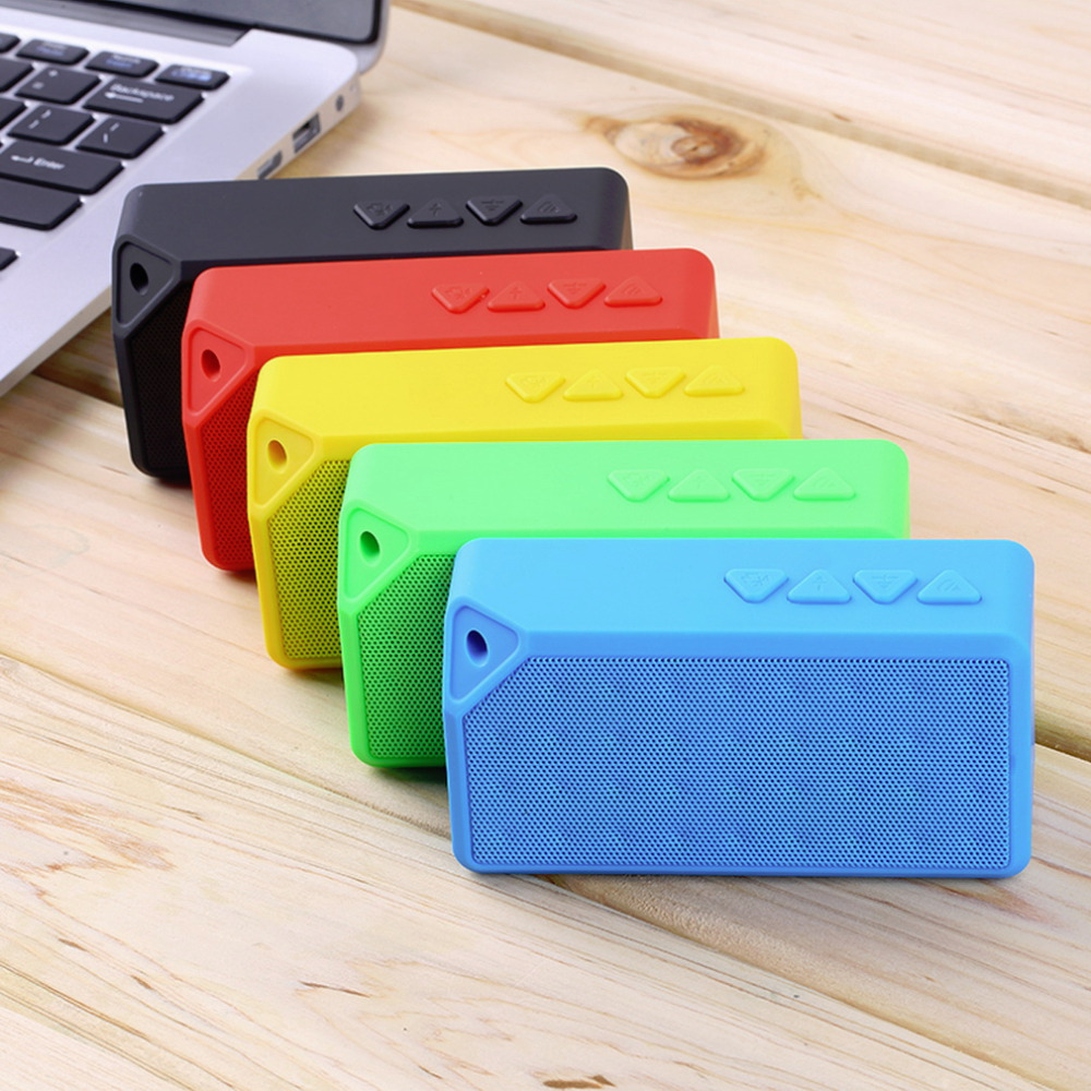 1pcs Hot Worldwide Mini Boombox Wireless Bluetooth Speaker Microphone For Samsung For iPhone PC(China (Mainland))