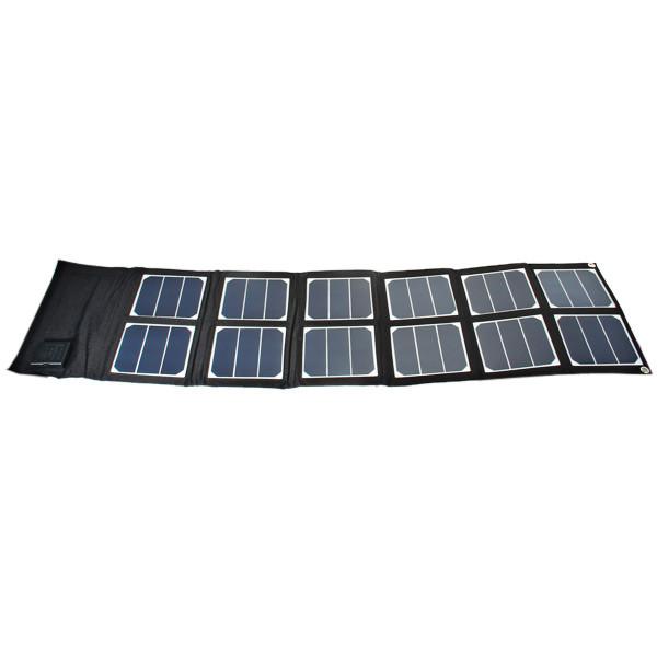 ELEGEEK 40W 5V/12V-18V Folding solar panel Portable USB DC Sunpower Panel High Efficiency Solar Panel Charger for Laptop & Phone