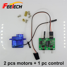 Buy 2 pcs Feetech FM90 Gear Motor + 1 pc control board Micro RC Motor Gear Box RC Car Boat Robot Drones for $12.17 in AliExpress store