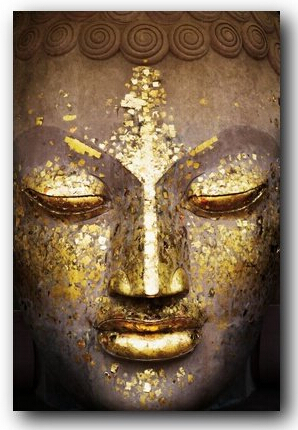 The Golden Face Inspirational Classical Stylish Nice Home Decor Retro Poster In Size (50x76cm) Wall Sticker Free Shipping
