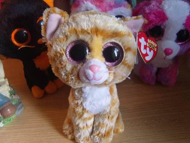 Ty шапочка коллекция большие глаза вещи игрушка кукла 6 дюйм(ов) кошка табита