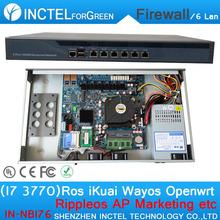 I7 3770 Processore Intel PCI-E 1000 M 6*82583 v Partecipe Firewall Router con Radius_Manager Monowall PFS OPENWRT