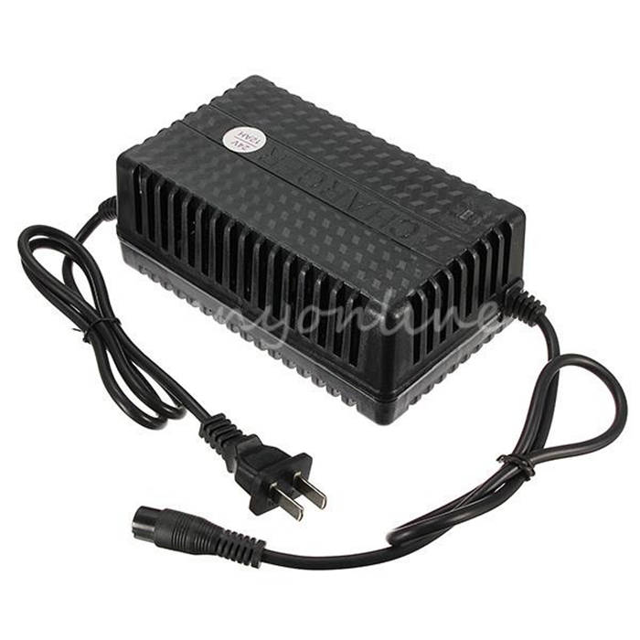 Newest 36 Volt 36V 1.6A 3-Prong Battery Charger for Electric Moped Scooter Bike ATV X-Treme X-560 XT-300 X-360 Minimoto(China (Mainland))
