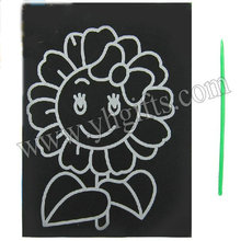 50PCS/LOT.Mixed design paper magic scratch cards,Scraping painting,Kids toy,Promotion toy,Kindergarten toys.12.8*9.3cm.Wholesale(China (Mainland))