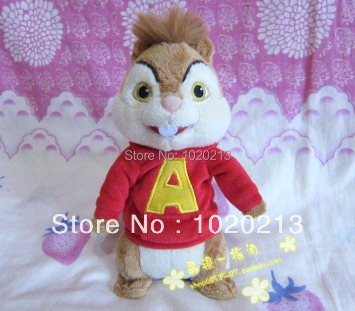 alvin and the chipmunks plush soft doll 25cm Alvin Theodore Simon brittany eleanor