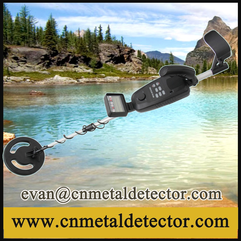 Free shipping new deep target sensitive metal detector water.
