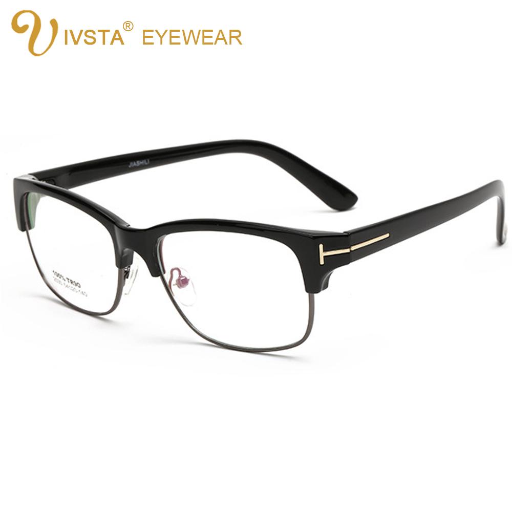 IVSTA 2530 demi blue Flexible TR90 Mens Glasses Oversized Eyeglasses Big Plain Optical Frames Myopia TF Design plastic titaninum(China (Mainland))