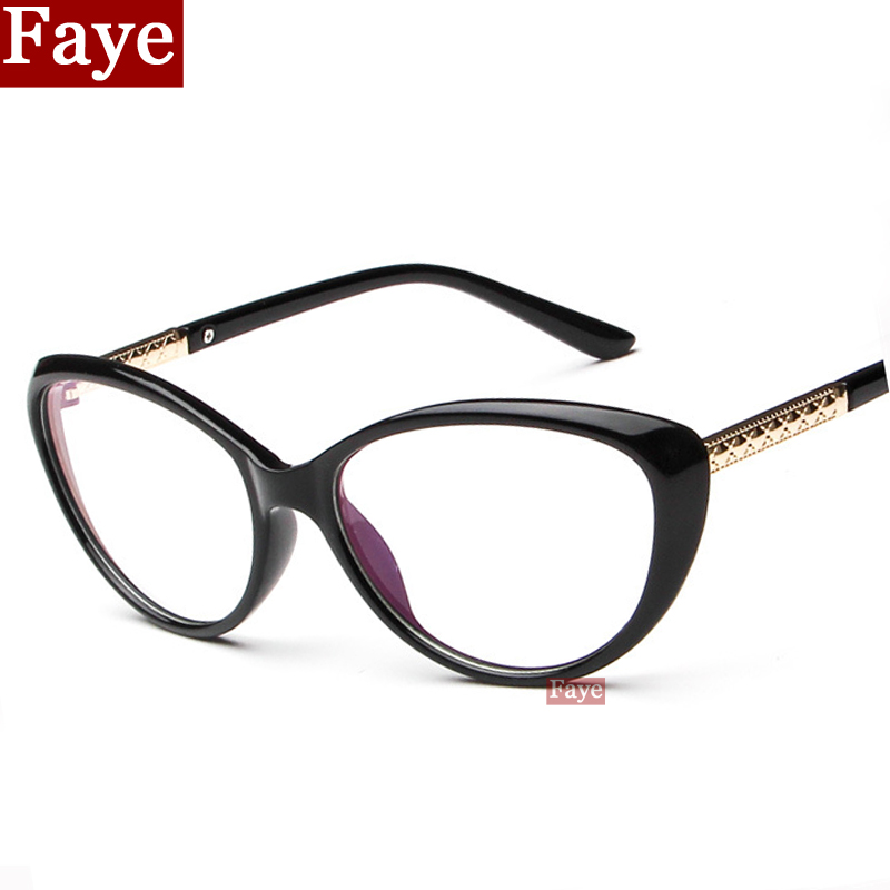 Eye Glasses Frame Trend 2016 : 2016 New Fashion Brand Cat Eye Glasses Frame Vintage Women ...