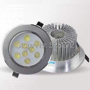 цена на Светодиодный прожектор SANZUO , 9W 10pcs/lot, 85v/265v Epistar Ce & RoHS SZT-9