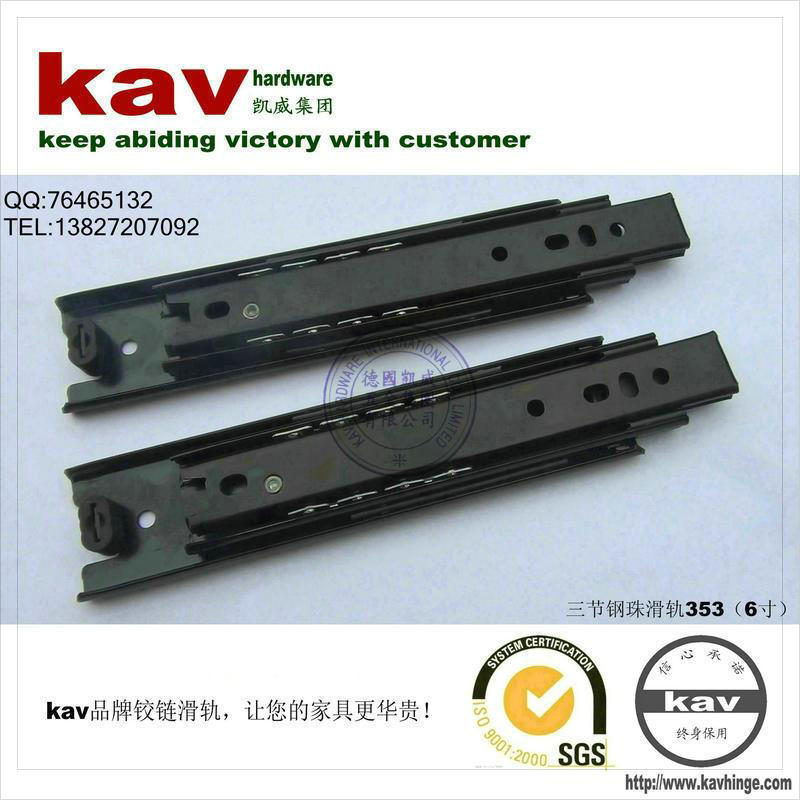 product kav Brand ( 35 W ) 6-inch three drawer ball bearing slide 353 vessel sink