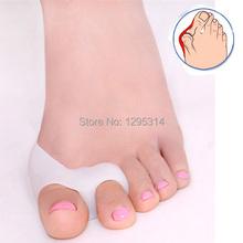 1Pair Hallux valgus foot Toe separator gel toe bunion shield Gel toe Stretchers orthopedic braces to correctivo big bone toe Pzq