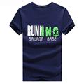 WOQN T shirts Men 2017 Summer Fashion Printed Men T shirt Short Sleeve Slim O neck
