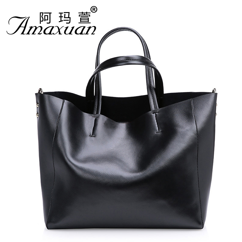 Amaxuan Brand Genuine Leather Bag Women leather Handbags messenger Bags Ladies Shoulder Bag purses handbags Bolsos Mujer BH839(China (Mainland))