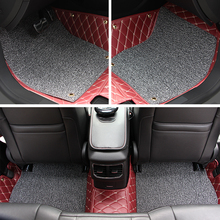 Car Floor Mats Car Special Floor Mat Black Beige Wine Red Brown for Toyota Camry 2006-2011(China (Mainland))