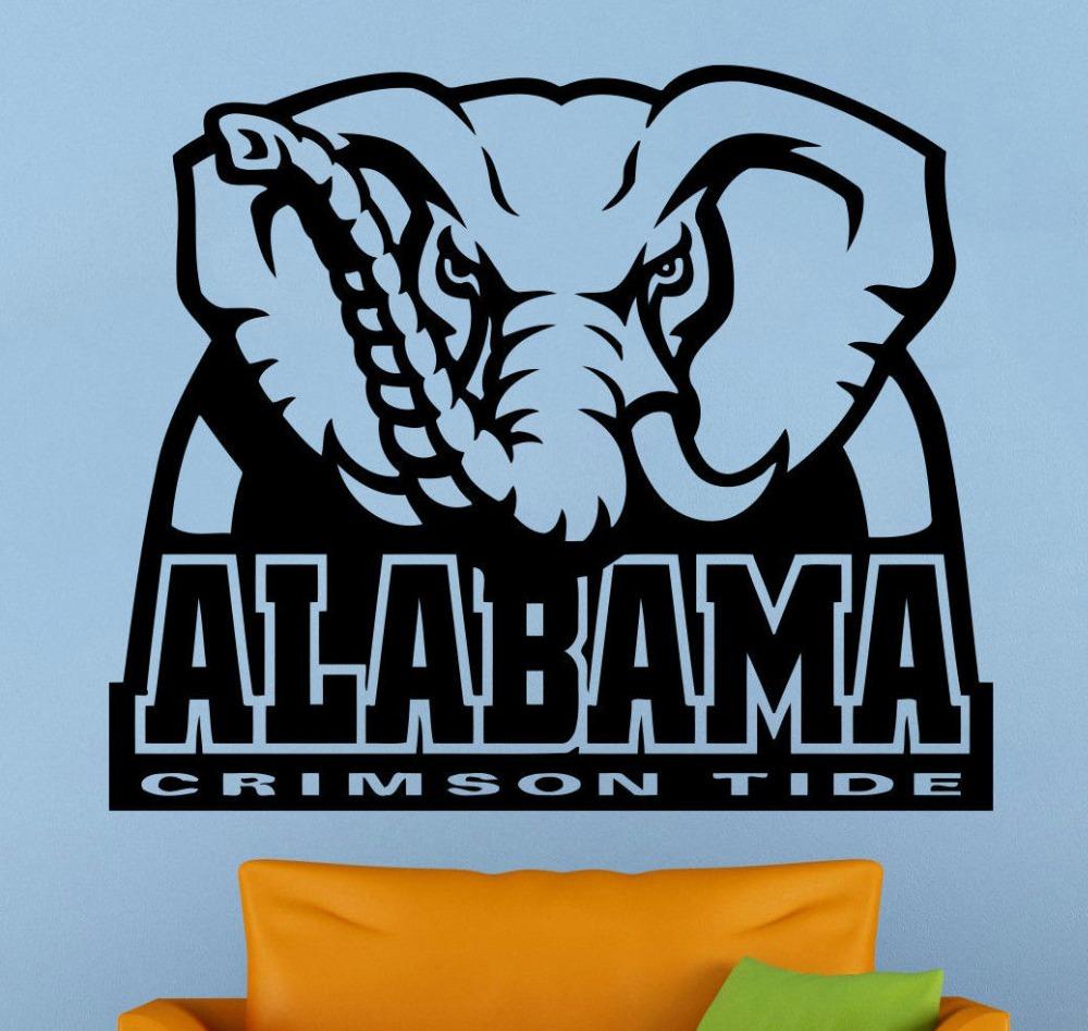 Alabama football decor promotion shop for promotional for Alabama football wall mural
