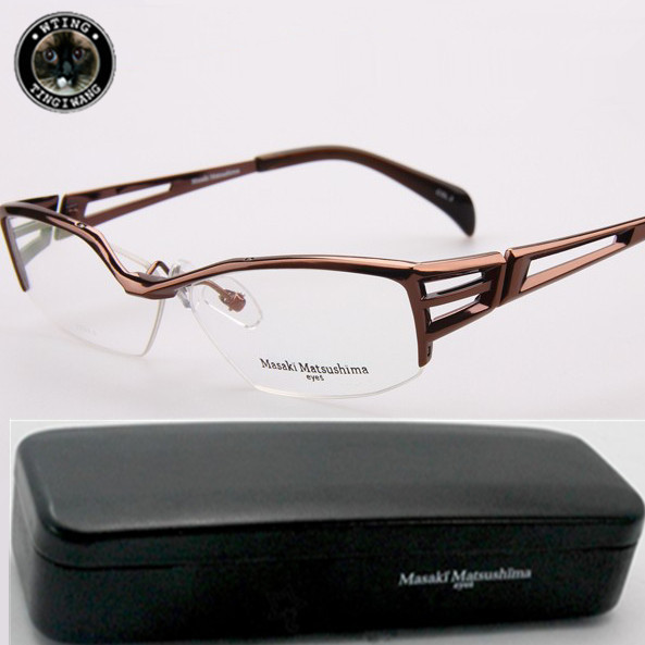 Classic Fasshion Unisex Eye Glasses Name Brand travel Eyeglasses Brown Frame UV400 Clear Lens Eyewear Computer Reading Glasses(China (Mainland))