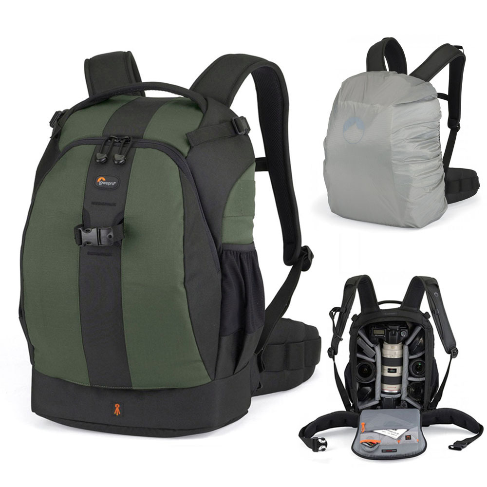 100 NEW Lowepro Flipside 400 AW Digital SLR Camera Photo Bag Backpacks with ALL Weather Cover