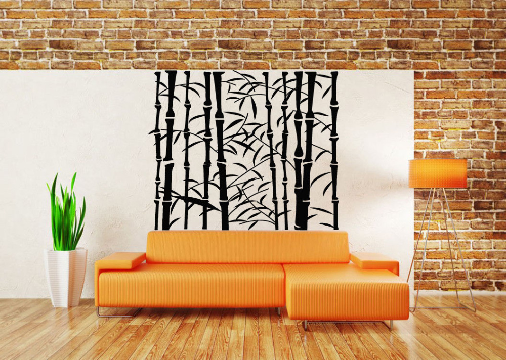 Bamboo Wood Wall Decor : Popular bamboo sticker buy cheap lots from