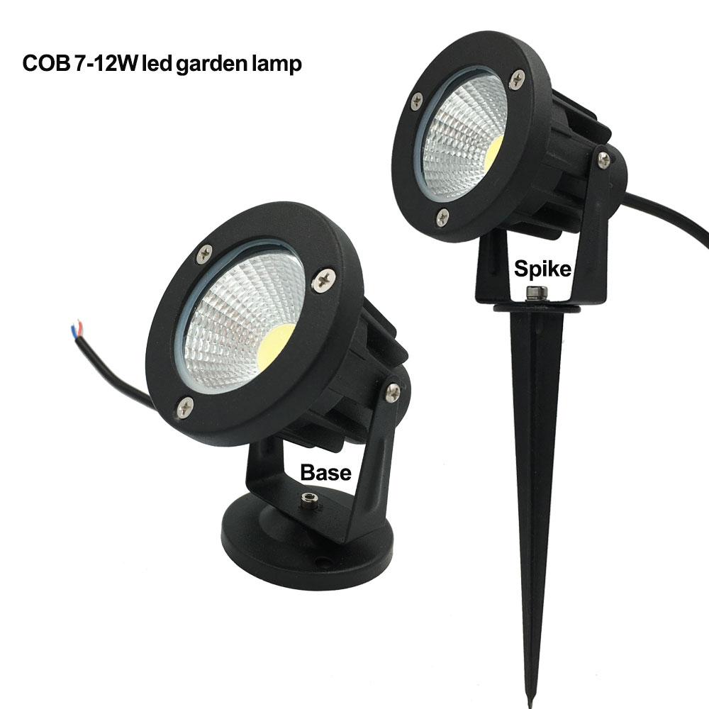 220V 110V Outdoor LED Garden Light 9W 7W COB Led Lawn Lamp 3W 5W 7W 9W Waterproof Spike Garden LED Light Outdoor Warm White RGB(China (Mainland))