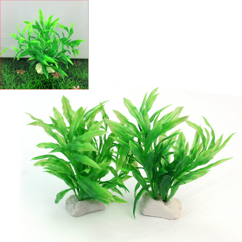 Online buy wholesale fish pond decorations from china fish for Artificial fish pond plants