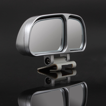 1 Pair Auto Wide Angle Rear Mirrors Side RearView Car Universal Blind Spot Square Mirror of 2 Colors(China (Mainland))