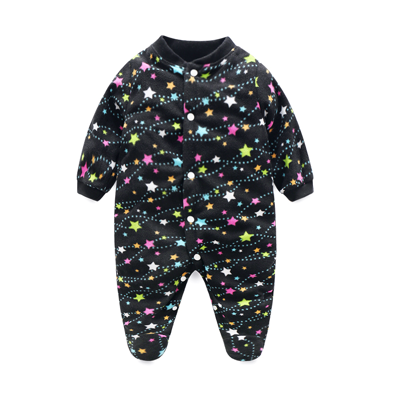 Unisex Baby Romper Winter Cartoon Baby Clothes One Pieces Autumn Newborn Clothes Baby Boy Gril Romper Long Sleeve Infant Product(China (Mainland))