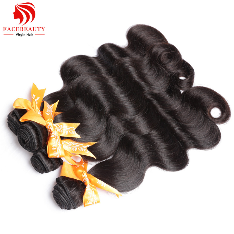 7A Virgin Unprocessed Hair Malaysian Body Wave,100% Remy Human Hair 4Pcs Lot Natural Black Color Machine Weft Free Shipping(China (Mainland))