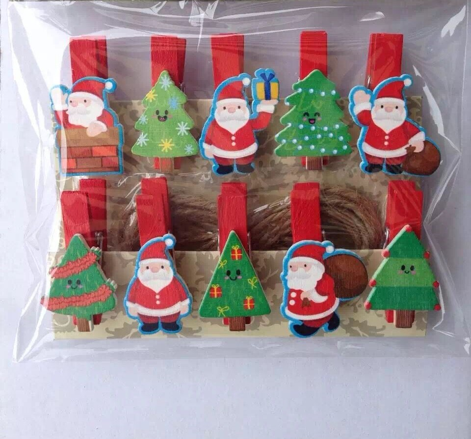 Popular Christmas Clothespin Crafts Buy Cheap Christmas
