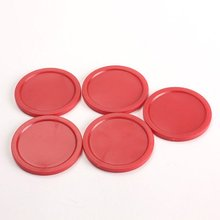 Wholesale 10* 5Pcs 2 inch Mini Air Hockey Table Pucks 50mm Puck Children Table New(China (Mainland))