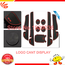 Car styling Anti slip mat sticker gate slot pad door carpet Interior decoration Toyota EZ Non-slip - Runing autoparts Store store