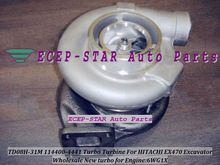100% NEW With gaskets TD08H-31M 114400-4441 Turbo Turbine turbocharger Fit For HITACHI EX470 Excavator Engine 6WG1X