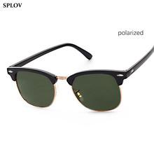 Half Metal Polarized Sunglasses Men Women Brand Designer Glasses Sun Glasses Fashion Gafas Oculos De Sol UV400 Classic