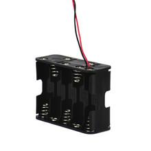 10 AA 2A Battery Case Holder 15V Clip Box Storage Wire Leads Black #ET57 - TSAI Technology Co., Ltd. store