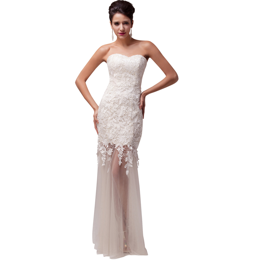 white lace dresses for women
