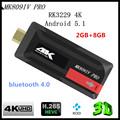 KimTin K809IV PRO TV Dongle Rockchip RK3229 Quad Core Cpu Penta core ARM Android 5 1
