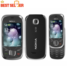Unlock 7230 Original Nokia 7230 mobile phone Bluetooth FM JAVA 3.15MP Camera Free Shipping(China (Mainland))