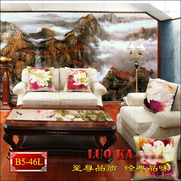 Custom large mural bedroom TV sofa backdrop painting rich non-adhesive wallpaper wallpaper Landscape<br><br>Aliexpress