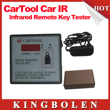 2015 New Arrival CARTOOL Car IR Infrared Remote Key Frequency Tester (Frequency Range 100-1000MHZ) Free Shipping(China (Mainland))