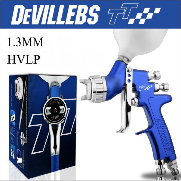 1.3mm nozzle pneumatic spray gun 600cc cup car spray paint devillebs hvlp amazing painting tool sprayer paint professional(China (Mainland))