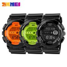 Skmei reloj militar marca hombres reloj relojes mujer 2014 electrónica relojes deportivos para hombres