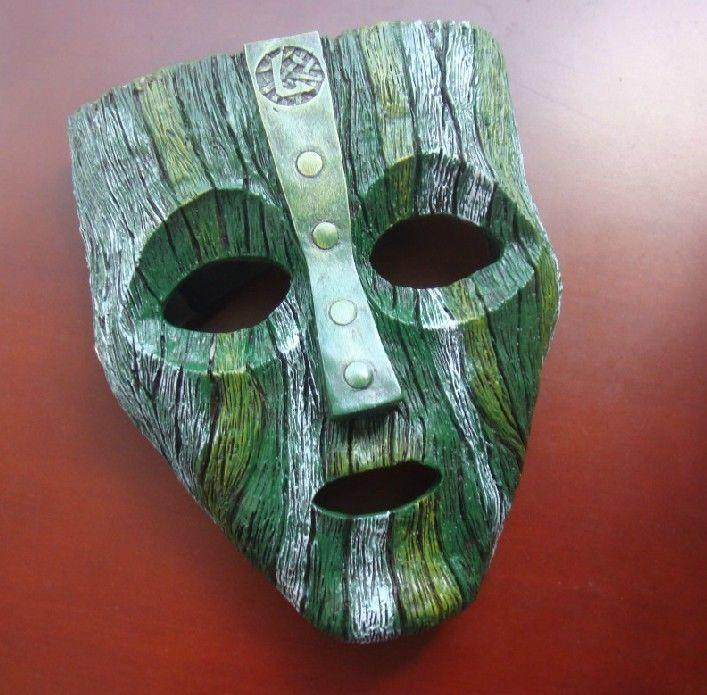Как сделать маску из зеленой бумаги