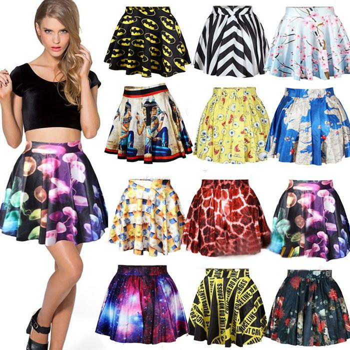 Женская юбка BIOVAN 3D /2015 Saia Femininas MY0309 женская юбка dear lover saia 2015 lc21141